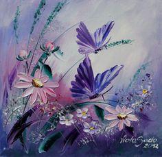 purple flowers printable