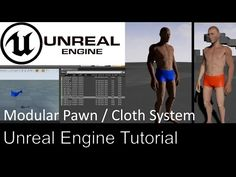 Unreal Engine 4 - Modular Pawn / Cloth System - Part 8 Character Design Tutorial, Game Mechanics, Video Game Development, Game Engine, Good Tutorials, Unreal Engine, Character Modeling, Game Ideas, Cgi
