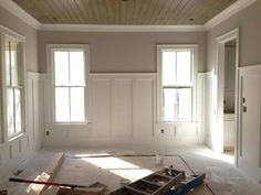 Best Wainscoting Styles And Designs for Every Room Tags: decorative wainscoting styles modern wainscoting styles wainscoting ideas kitchen wainscoting ideas rustic wainscoting room ideas Rustic Wainscoting, Dining Room Wainscoting, Wainscoting Styles, Painted Wainscoting, Wainscoting Nursery, Wainscoting Panels, Wainscoting Height, Black Wainscoting, Dining Room Paneling