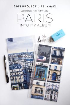 2015 Project Life: Six Days in Paris