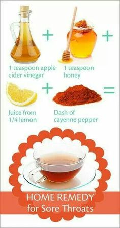 Home Remedy for the sore throat :)