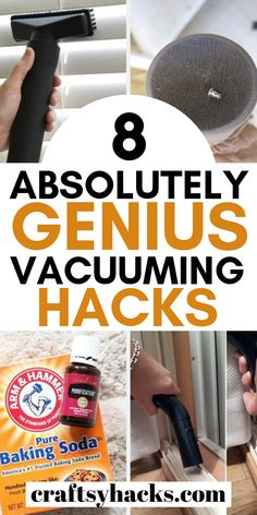 Try these home cleaning hacks and vacuum home with these simple cleaning tricks. Try them and improve your home cleaning process. Cleaning Maid, Car Cleaning Hacks, Household Cleaning Tips, House Cleaning Tips, Spring Cleaning, House Cleaning Services, Home Economics, Cheap Carpet Runners, Cleaners Homemade