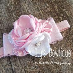 Flower Headbands, Baby Headbands, Hair Bows, Ribbon, Hair Accessories, Fashion, Head Bands, Stuff Stuff, Fascinators