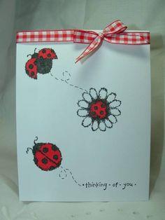 Squiggle ladybugs