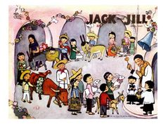 Leo Polti: Pascua - Jack and Jill, April 1947 Giclee Print