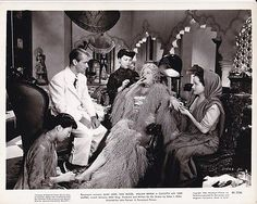 ALAN LADD EDITH KING Cigar Original Vintage CALCUTTA Paramount Film Noir Photo