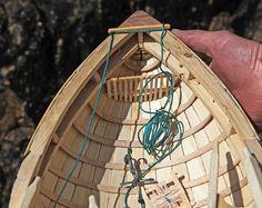The Aughrus Peninsula - Art & Craft, curach model