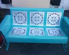 We have wonderful authentic 1950's piece to outift your porch for spring.......Vintage Metal Porch Gliders,Chairs,Tables and Accessories.Check us out.........www.retrovintagepatio.com