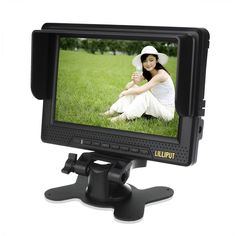 Lilliput 668GL Field Monitor for DSLR HD Video Camera DSLR (Canon Nikon Sony Olympus Panasonic Pentax) /Video Camera Camcoder 1920×1080 1080P 7 Inch on-camera HD LCD Field Monitor w/ Internal Battery (HDMI, Component, Composite Input): Amazon.co.uk: Computers & Accessories