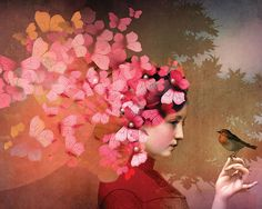Discover the world of digital artwork and  explore some of the most creative blogs on the internet in Artful Blogging Winter 2015. Artwork by Catrin Welz-Stein.