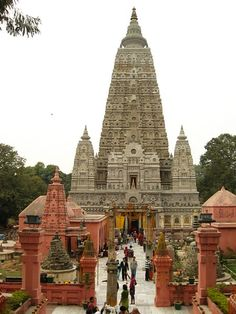 Mahabodhi Temple in Bodh Gaya, India ~ the site of the Buddha's Enlightenment