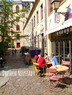 Unterwegs. Und Kaffee und Kuchen.: Dresden - Neustadt