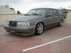 I'd like to get my 940 looking like this. Volvo 940/960 with x70 bumpers from turbobricks.