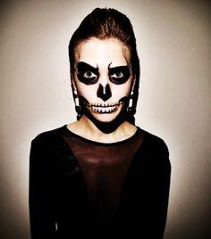 glam skeleton