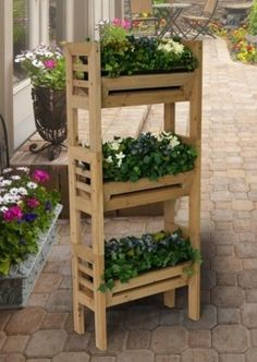 how to build a strawberry tower wood - Google Search
