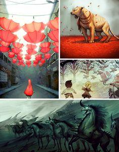 Art Meets Storytelling: 15 Amazing Graphic Illustrators   Urbanist