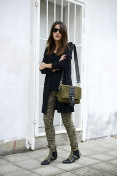 green camo jeans --- styled by Lovely Pepa
