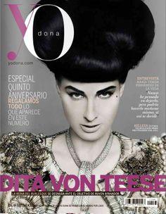 Dita Von Teese for YO DONA Magazine, May 28th 2010