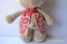 Es un Mundo Amigurumi: Patrón Coneja con Flores Crochet Rabbit, Reusable Tote Bags, Crochet Ideas, Image, Crochet Animal Amigurumi, Crochet Dolls, Diy And Crafts, Creativity, Crochet Numbers