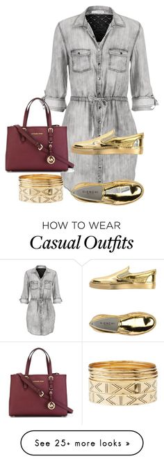 """casual"" by missejaay on Polyvore featuring maurices, GIENCHI, Charlotte Russe and MICHAEL Michael Kors"