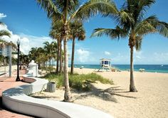 Ft. Lauderdale has many great qualities to offer retirees. Beaches, restaurants and warm Florida sun!