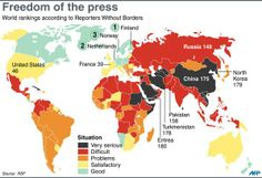 De @anfivas: Solo Canadá y Costa Rica tienen buena libertad de prensa en América (supuestamente) http://twitter.com/AFP/status/433610958619942912/photo/1