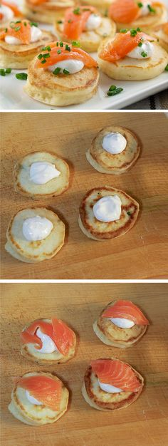 Cream Cheese Pancakes | Click Pic for 17 New Years Eve Appetizer Ideas for a Party | Quick and Easy Holiday Party Food Ideas for a Crowd