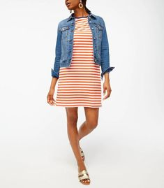 weekend sales Casual Party Dresses, Party Dresses For Women, Nice Dresses, Dresses For Work, Women's Dresses, Shirt Dress, T Shirt, Dress Outfits, J Crew
