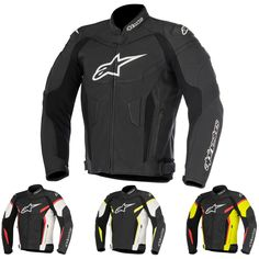 Alpinestars Racing GP Plus R V2 Mens Leather Sport Bike Riding Motorcycle Jacket
