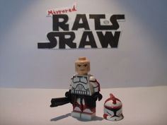 Lego Star Wars minifigures - Clone Custom Troopers - Commander Ponds