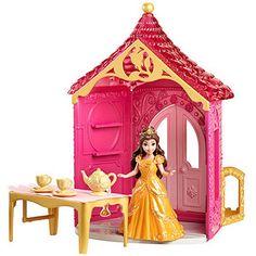 Disney Little Kingdom MagiClip Belle's Room Play