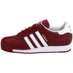 adidas Originals Samoa ($65) ❤ liked on Polyvore featuring shoes, sneakers, adidas, adidas originals trainers, adidas originals, full grain leather shoes, adidas originals sneakers and adidas originals shoes