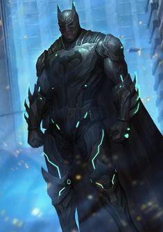Imaginary Gotham - The art of Batman and his Universe. Batman Poster, Batman Comic Art, Batman Arkham, Batman And Superman, Batman Robin, Batman Armor, Batman Suit, Batman Injustice, Batman Redesign