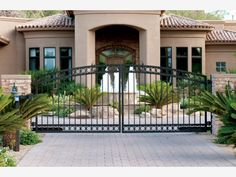 Estate Gates - Home and Garden Design Ideas