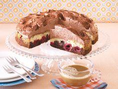 Schoko-Kirsch-Torte backen  - step by step  #lecker.de