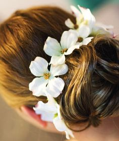 Brides: Rebecca and Mark in Webster, MA : Wedding Hairstyle Gallery