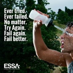 Today is the day to try again. Get moving, exercise right, exercise for you. #getmoving #exerciseright #ESSAStudents