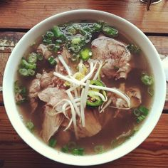 And we'll have Pho Pho Pho till your daddy takes the T-bird away