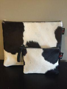 Cow Hide Hair Clutch Bag.This quality unique clutch bag has