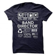Band Director T Shirts, Hoodies, Sweatshirts. CHECK PRICE ==►…