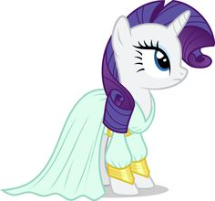 MLP. Rarity's dress from Rarity Investigates!!!! Season 5!!!