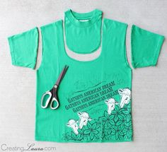 Creating Laura: Making a tote bag out of a t-shirt DIY Bag and Purse Loading. Creating Laura: Making a tote bag out of a t-shirt Previous Post Next Post Diy Backpack, Diy Tote Bag, Sewing Hacks, Sewing Crafts, Sewing Projects, Recycled T Shirts, Old T Shirts, Sewing Clothes, Diy Clothes