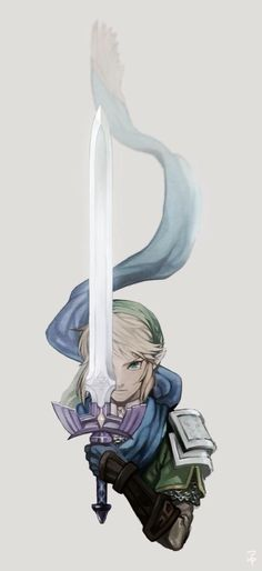 Link from Legend of Zelda. Oh I love him so much ^_^