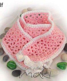 Baby scarf crochet pattern