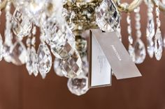 Preciosa crystal glitters and glows at our Flagship showroom in Prague.