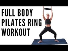 Join me for this TOTAL BODY PILATES RING WORKOUT to sculpt and lengthen your muscles. Begin with a warm up and progress to a dynamic flow of standing exercis. Pilates Ring Exercises, Rings Workout, Bosu Workout, Weight Loss Workout Plan, Weight Training, Pilates Reformer, Plein Air, Workout Videos, Total Body