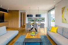 Apartment in Bratislava by RULES Architects | HomeAdore