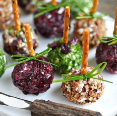 Mini Goat Cheese Balls from Mom on Timeout