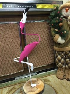 PVC 1-Legged Flamingo