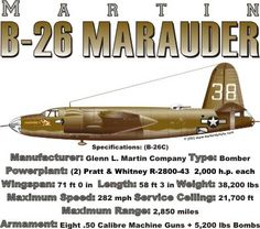 WARBIRDSHIRTS.COM presents United States Warbirds, available on Polos, Caps, T-shirts, Sweatshirts and more. featuring here in our United States collection the B-26 Marauder